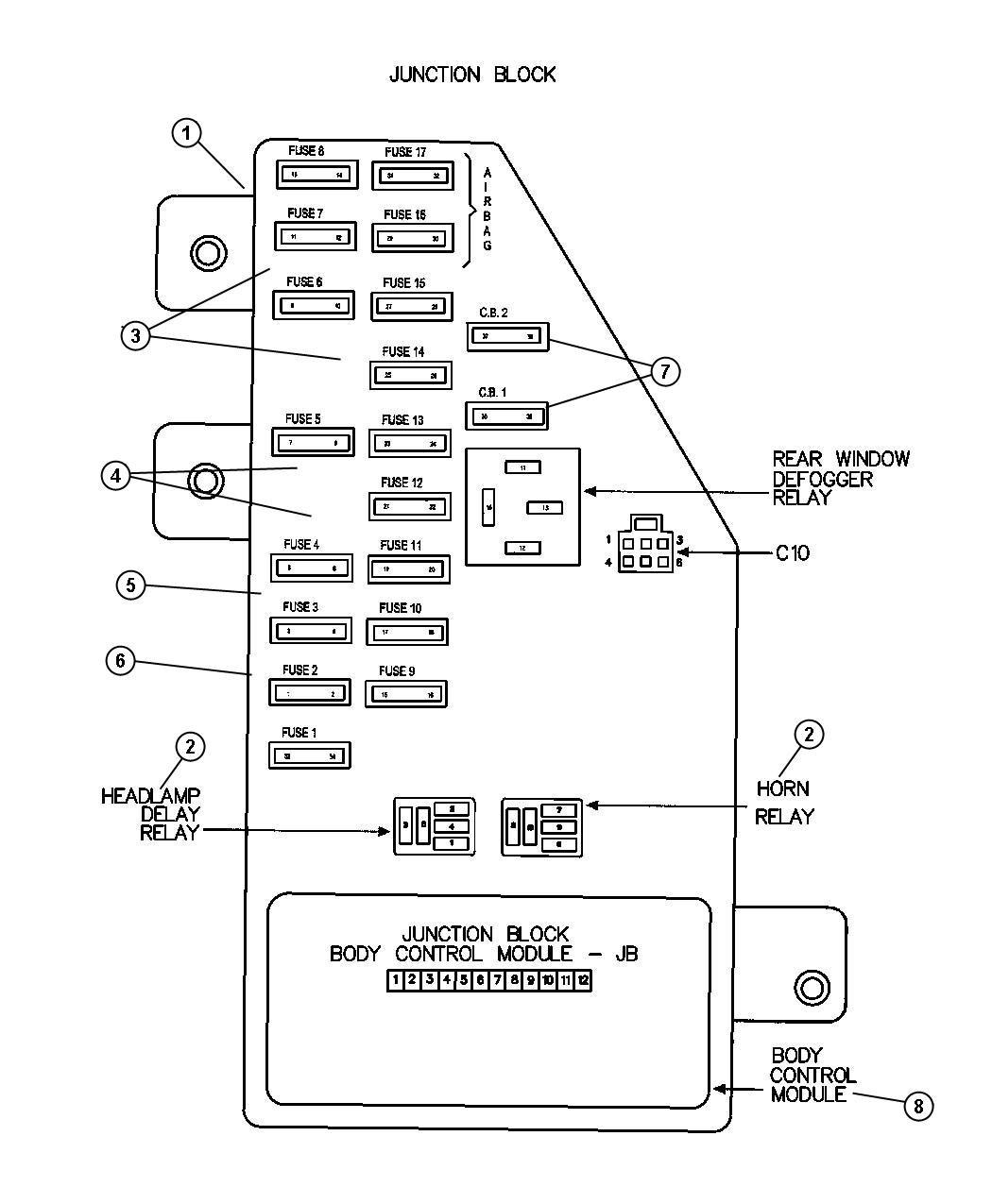 1997 Dodge Ram 1500 Transmission Wiring
