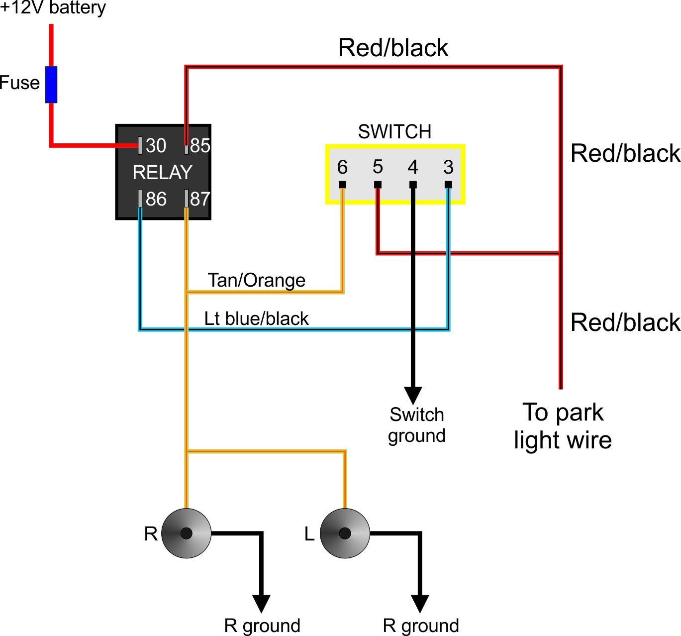 fog lights wiring diagram hg 3409  com fog light wiring diagram for 2006 chevy silverado  hg 3409  com fog light wiring diagram