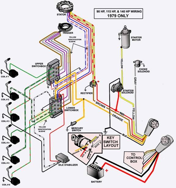 mercury 50 hp thunderbolt ignition wiring diagram wb 4307  mercury switch box diagram free diagram  wb 4307  mercury switch box diagram