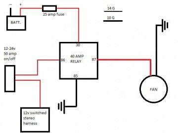 Db 6902 Cooling Fan Relay Diagram