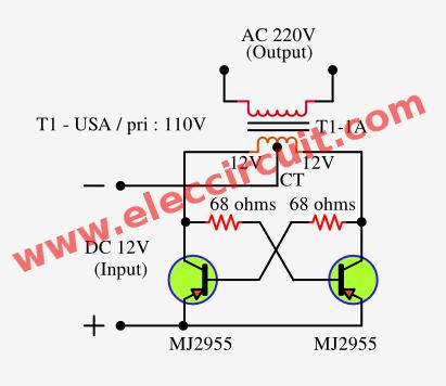 Wondrous How To Make Simple Inverter Circuit Diagram Within 5 Minutes Wiring Cloud Filiciilluminateatxorg