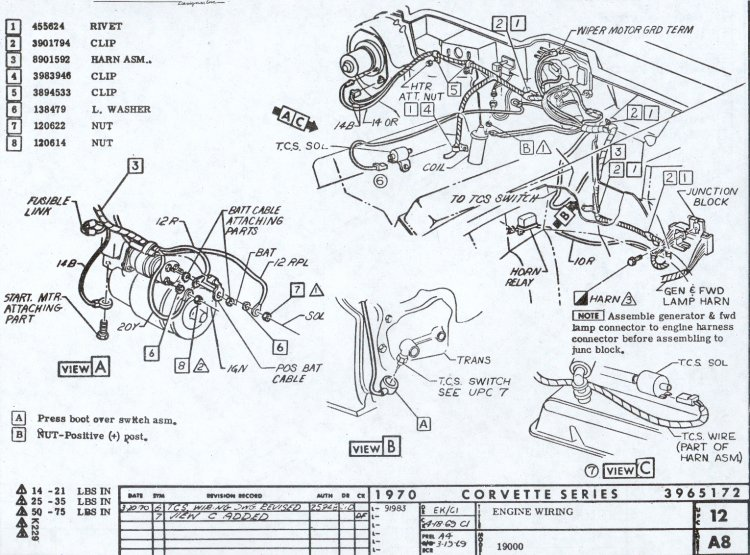 Awe Inspiring Details Zu 1972 72 Corvette Wiring Diagram Manual Basic Wiring Cloud Uslyletkolfr09Org