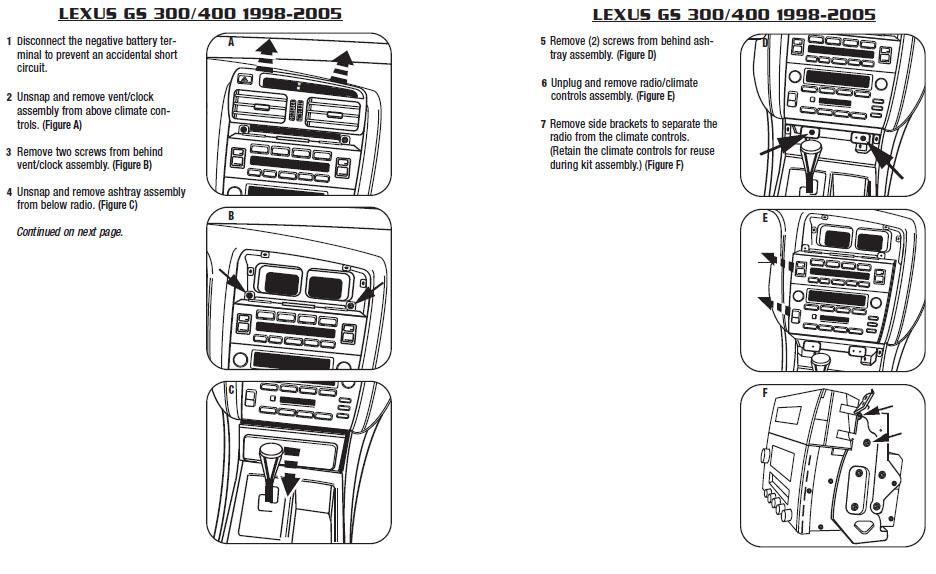 Enjoyable 2002 Lexus Gs300 Installation Parts Harness Wires Kits Bluetooth Wiring Cloud Mousmenurrecoveryedborg