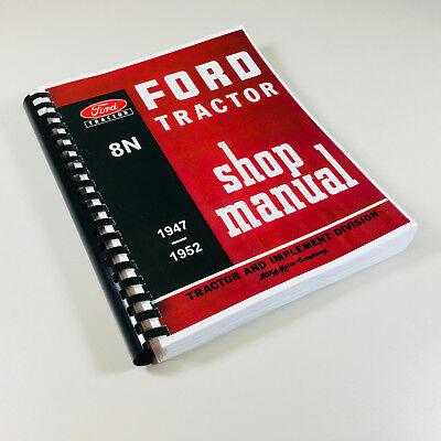 Tremendous Ford 8N 9N 2N Service Manual Parts Manual Assembly Manual Shop Wiring Cloud Licukosporaidewilluminateatxorg