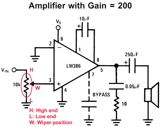 Stupendous Lm386 Based Stereo Audio Amplifier With Digital Volume Control Wiring Cloud Icalpermsplehendilmohammedshrineorg