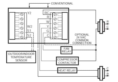 Fantastic Thermostat Schematic Diagram Basic Electronics Wiring Diagram Wiring Cloud Staixaidewilluminateatxorg