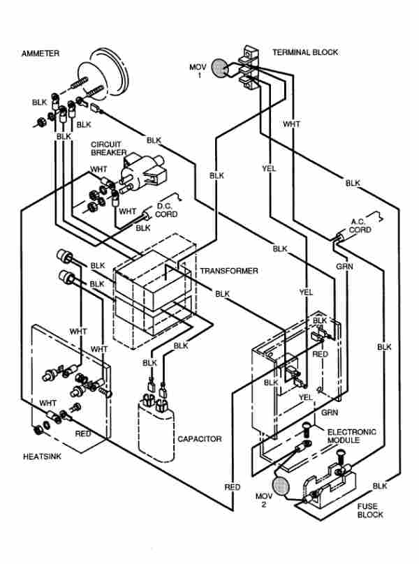 36 volt ez go battery wiring diagram bl 2740  golf cart wiring diagram further ezgo golf cart 36 volt  wiring diagram further ezgo golf cart