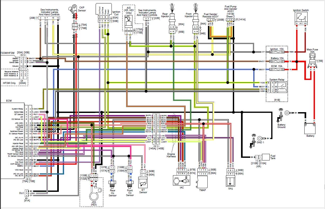 99 Harley Wiring Diagram