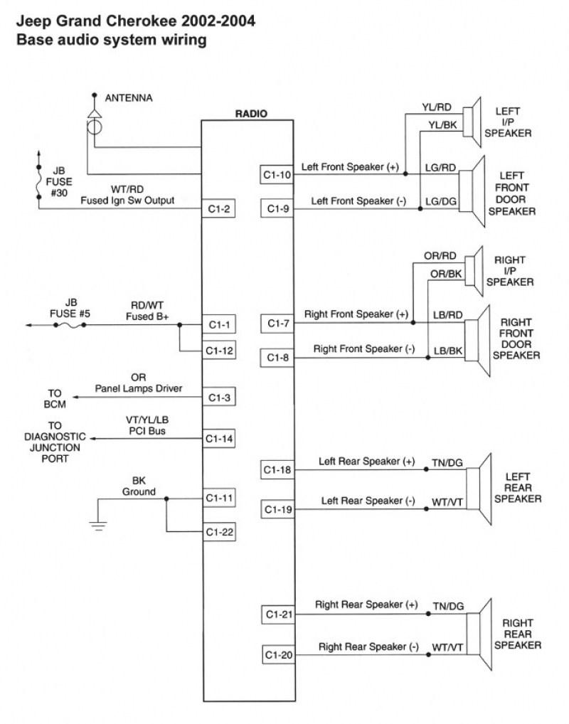 Wrangler Tj Stereo Wiring Diagram - Wiring Diagram