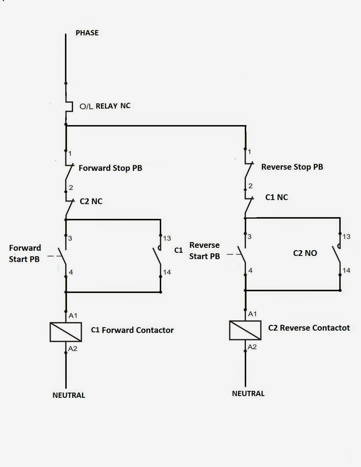 start stop contactor wiring diagram rf 3684  dol starter wiring diagram  rf 3684  dol starter wiring diagram
