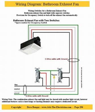 Amazing Wiring Diagram Bathroom Fan Light Heater Also Wiring Bathroom Fan Wiring Cloud Hemtegremohammedshrineorg