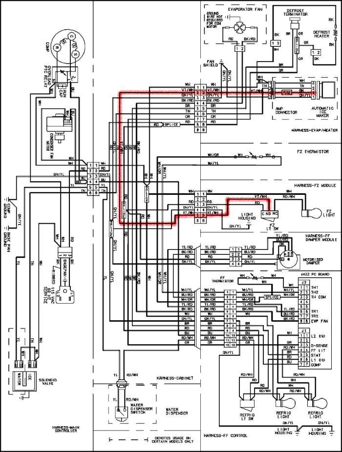 [DIAGRAM_38DE]  WO_0108] Amana Refrigerator Amana Refrigerator Control Board Schematic  Wiring Diagram | Sxs Ge Fridge Ice Maker Wiring Diagram |  | Vulg Ally Bdel Emba Mohammedshrine Librar Wiring 101