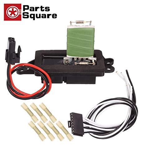 Astounding Amazon Com Partssquare Hvac Blower Motor Resistor Harness Wiring Cloud Monangrecoveryedborg