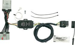 Hopkins 48255 25 4 Wire Flat Trailer Side Y-Harness Connector Hopkins Towing Solution HOP:48255