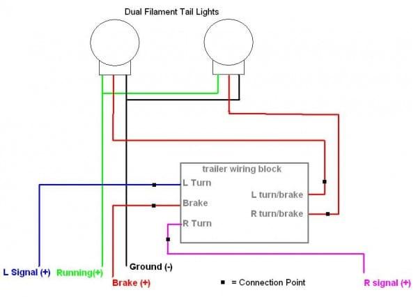 3 wire trailer light diagram 2003 chevy van wiring diagram