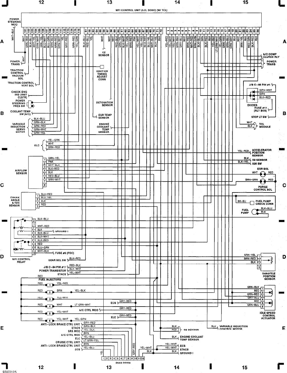 ZC_2590] 1992 Mitsubishi Diamante Wiring Diagram Schematic WiringErek Norab Denli Mohammedshrine Librar Wiring 101