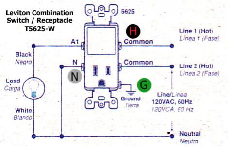 Leviton Combination Switch And Tamper Resistant Outlet Wiring Diagram from static-resources.imageservice.cloud
