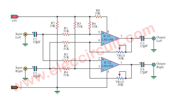 Peachy Surround Sound System Circuit Diagram Eleccircuit Com Wiring Cloud Ittabpendurdonanfuldomelitekicepsianuembamohammedshrineorg