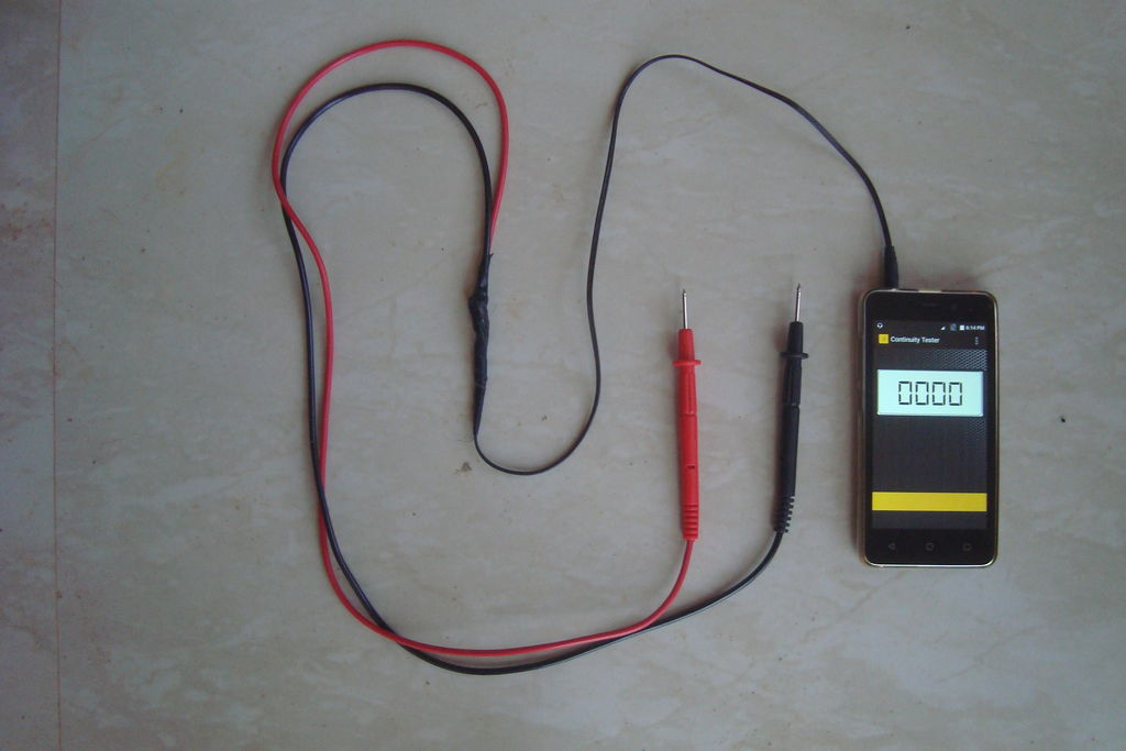 Awesome Continuity Tester Using Android Phone 7 Steps With Pictures Wiring Cloud Monangrecoveryedborg