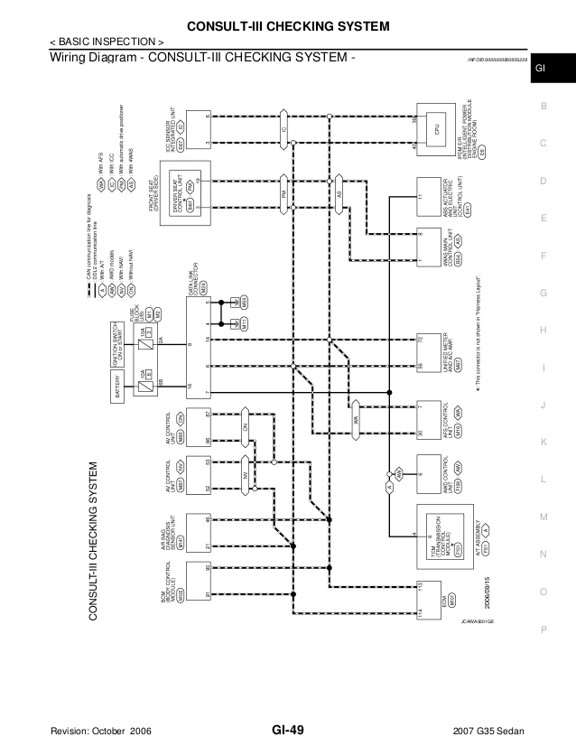 [DIAGRAM_09CH]  Heater Wiring Diagrams 2007 Infiniti G35 Sedan Harley Softail Wiring  Harness Schematics Wp105 - ford.the-rocks.it | 2006 Infiniti G35 Wiring Diagram |  | Bege Wiring Diagram Source Full Edition
