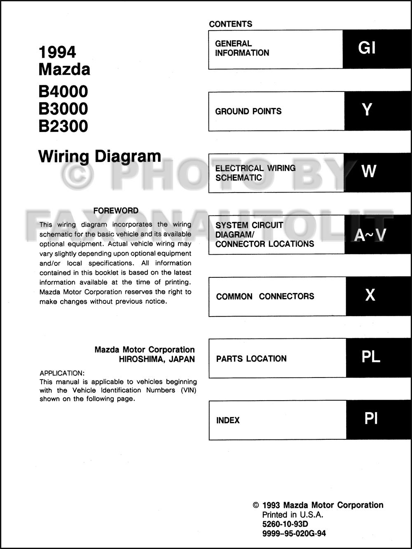 wiring diagram 1999 mazda miata fv 2263  94 mazda b4000 wiring diagram free diagram  fv 2263  94 mazda b4000 wiring diagram