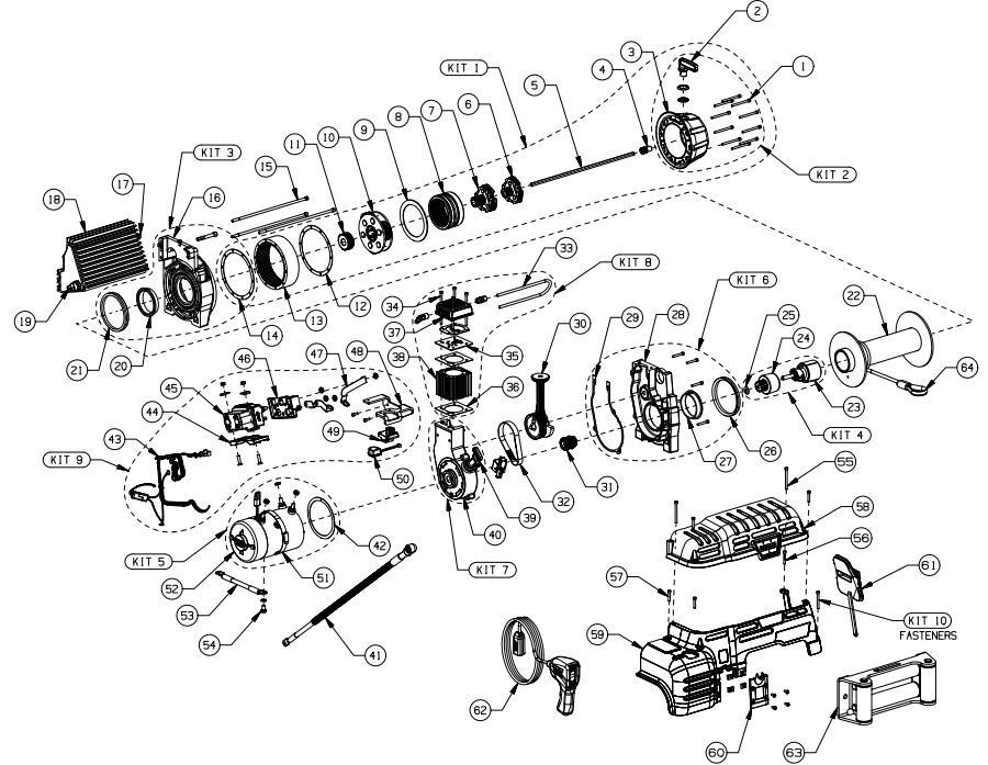 ee_0409] warn winch parts diagram on 6000 lb badland winch wiring ... warn a2000 parts diagram  ymoon salv mohammedshrine librar wiring 101
