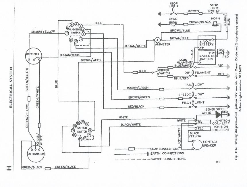 triumph bonneville wiring diagram nn 9338  triumph motorcycle wiring diagrams wiring diagram  triumph motorcycle wiring diagrams