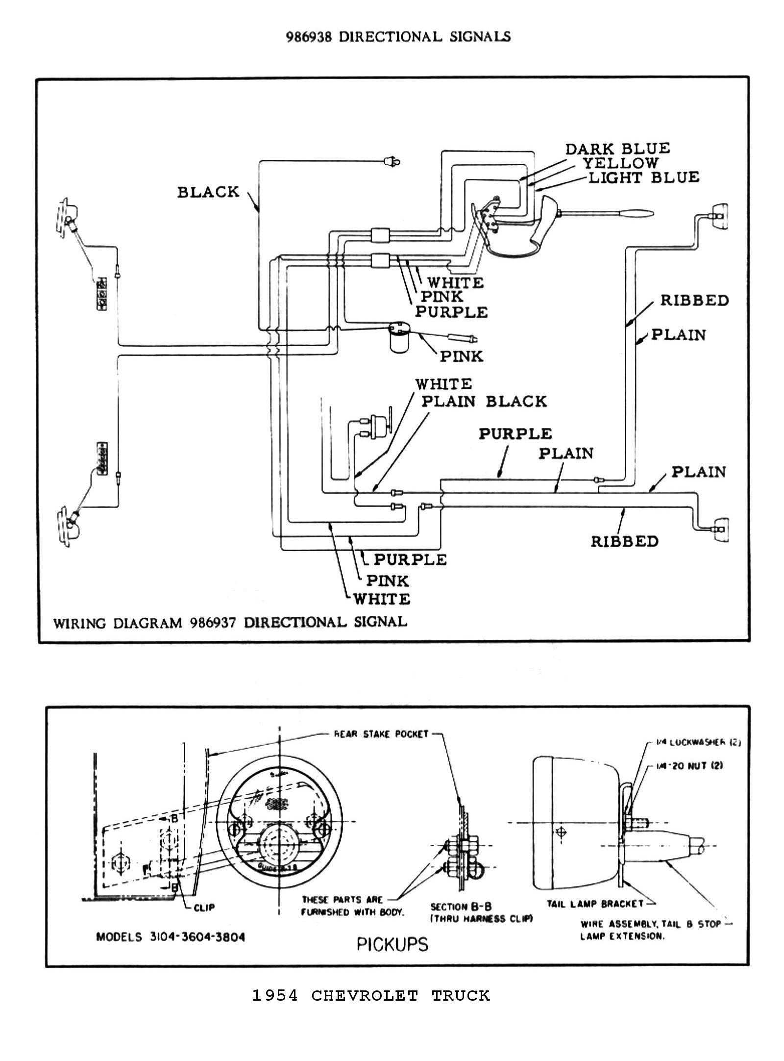 1954 Chevy Blinker Wiring Wiring Diagram Frame Frame Cfcarsnoleggio It