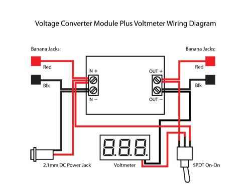 Ef 0308 12 Volt Meter Wiring Diagram Wiring Diagram
