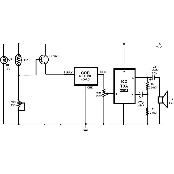 Wg 3283 Photoelectric Smoke Detector Circuit Schematic Download Diagram