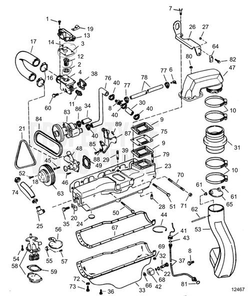 Enjoyable Volvo Penta Exploded View Schematic Exhaust Cooling And Oil Pan Wiring Cloud Picalendutblikvittorg