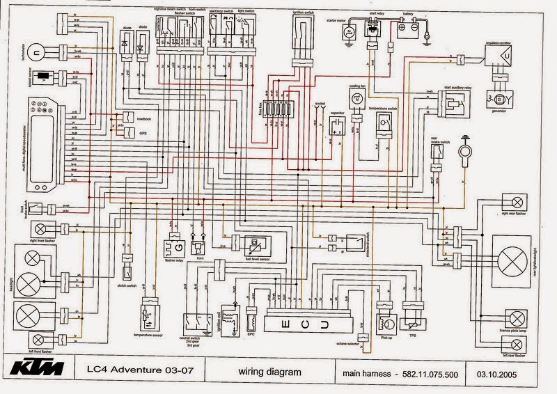 ktm headlight wiring diagram tg 8860  ktm 300 headlight wiring diagram schematic wiring  ktm 300 headlight wiring diagram