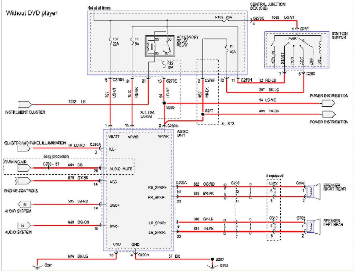 2005 Ford F 350 Wiring Diagrams | shop-decorati Wiring Diagram Page -  shop-decorati.reteambito.it | Ford F 350 Stereo Wiring Diagram |  | wiring diagram library