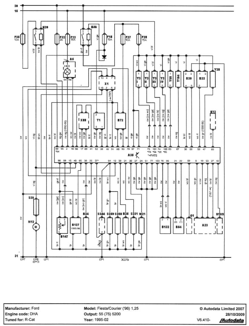 DH_7217] Car Wiring Diagrams Ford Fiesta Wiring Diagram Where Electric  Energy Free DiagramIfica Bedr Monoc Majo Umize Penghe Isra Mohammedshrine Librar Wiring 101