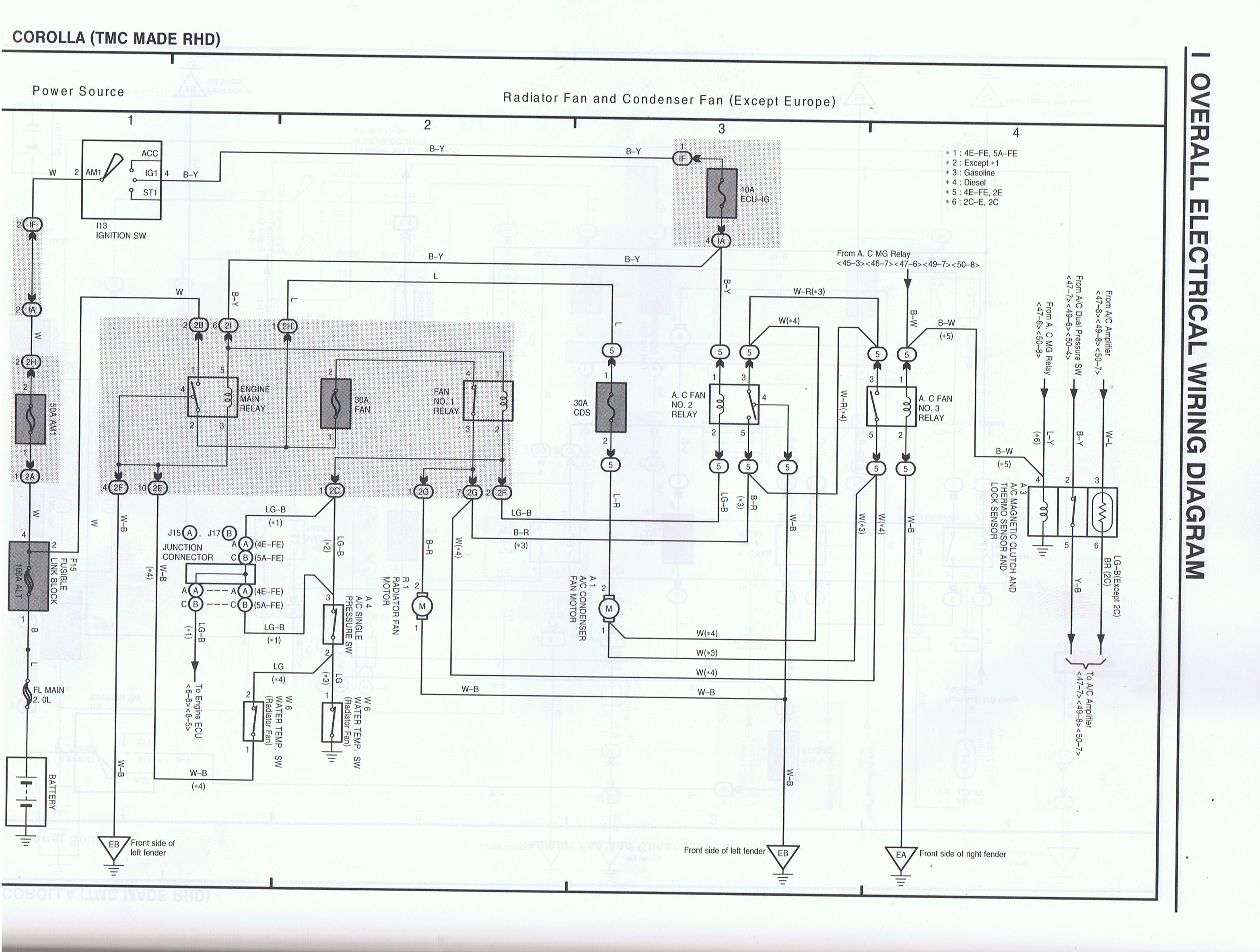 Toyota Ae101 Ae111 4a Wiring Diagram
