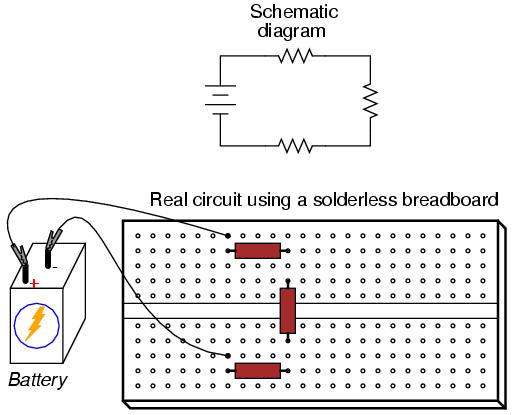 Remarkable Series Circuit Connection Basic Electronics Wiring Diagram Wiring Cloud Rometaidewilluminateatxorg