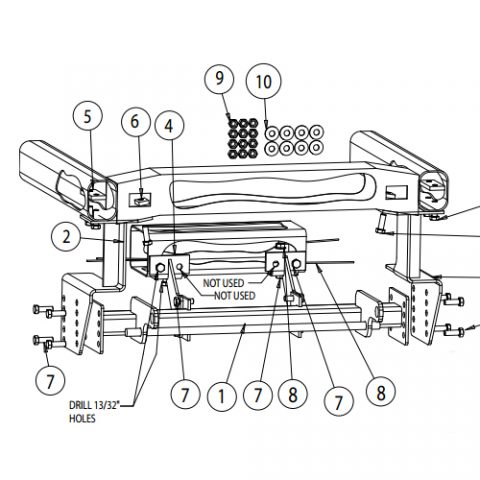 Swell Snowdogg Part 16064105 Md Plow Undercarriage Mount Kit Wiring Cloud Staixaidewilluminateatxorg