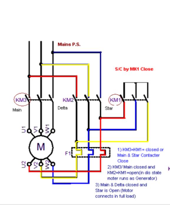 Rb 3811 Star Delta Starting Circuit Download Diagram