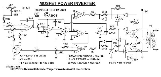 Wondrous Skema Rangkaian Inverter 1000 Watt Masputz Com Download Di 2019 Wiring Cloud Dulfrecoveryedborg