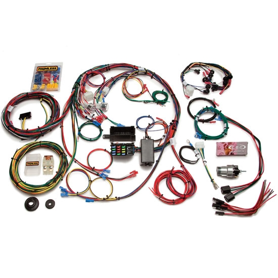 Outstanding Painless Wiring 20121 1967 1968 Mustang 22 Circuit Wiring Harness Wiring Cloud Ymoonsalvmohammedshrineorg