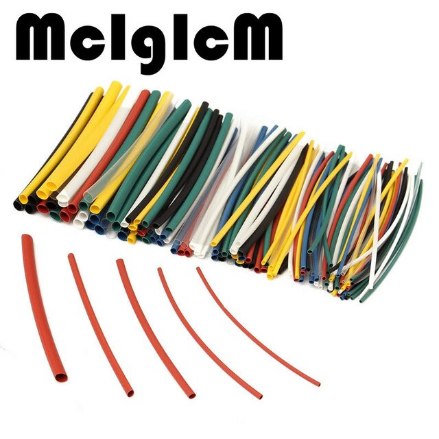 Awe Inspiring 140Pcs Heat Shrink Tube Car Electrical Cable Tubing Sleeve Assorted Wiring Cloud Unhoicandsaprexeroixtuhyedimohammedshrineorg