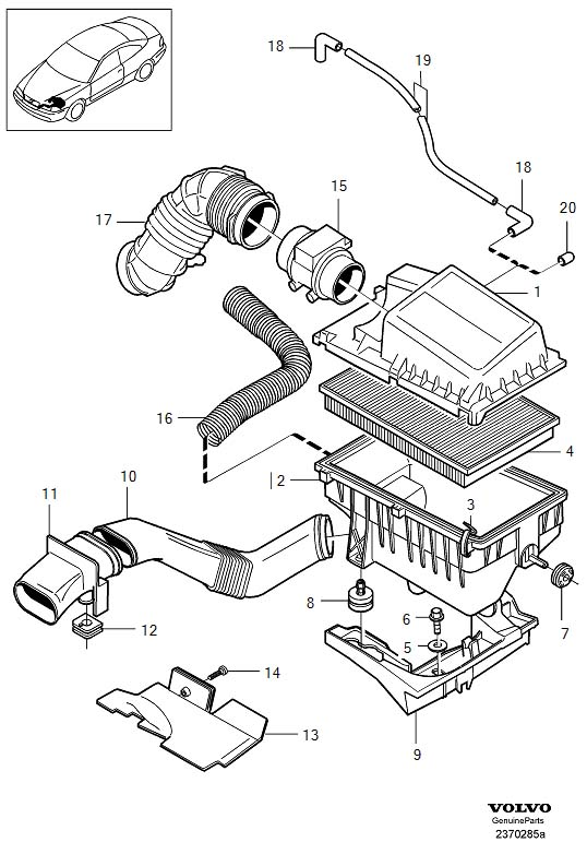 Dt 5934  2000 Volvo S70 Engine Diagram Also 1998 Volvo S70 Vacuum Hose Diagram Free Diagram