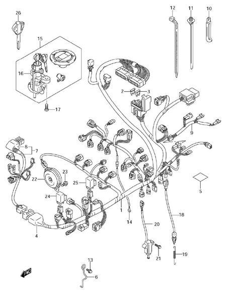 1996 Gsxr 750 Wiring Diagram - Wiring Diagram