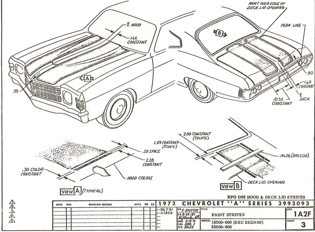 Ey 3262 1972 Chevelle Wiring Diagrams Wiring Diagram