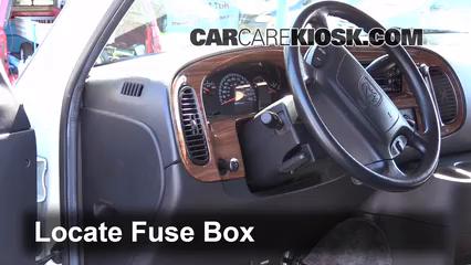 Strange Interior Fuse Box Location 1994 2003 Dodge Ram 1500 Van 2002 Wiring Cloud Xortanetembamohammedshrineorg