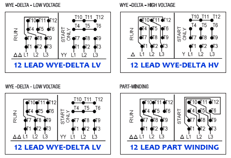 xl_2671] lead motor connection diagram on 9 lead 3 phase motor wiring  diagram  www mohammedshrine librar wiring 101